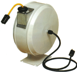 Single Enclosed Electric Cord Reels